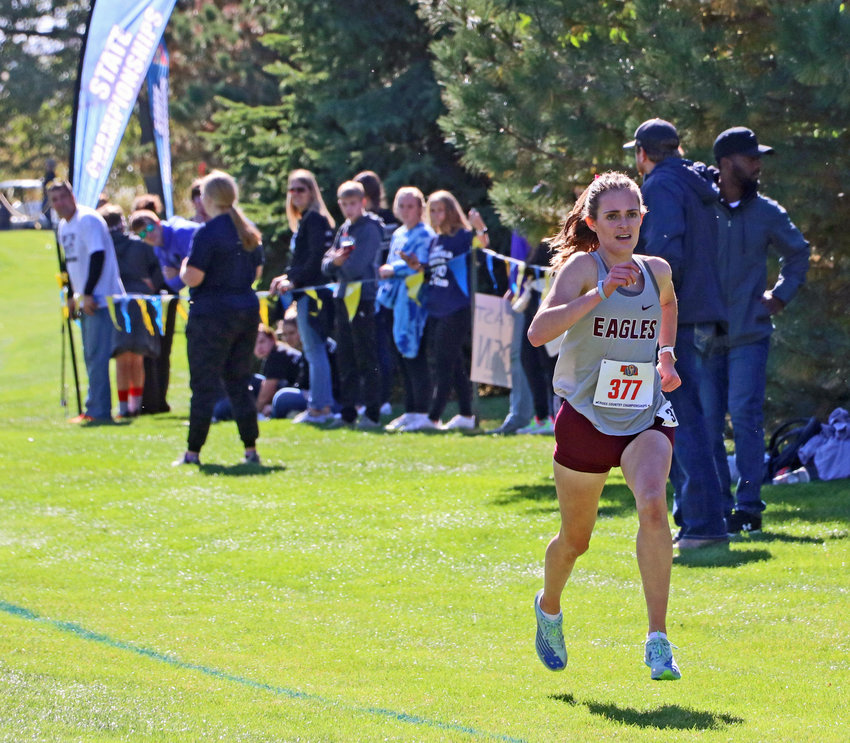 Arlington junior Keelianne Green won a Class C cross-country individual title Friday during the NSAA State Championships at Kearney Country Club.