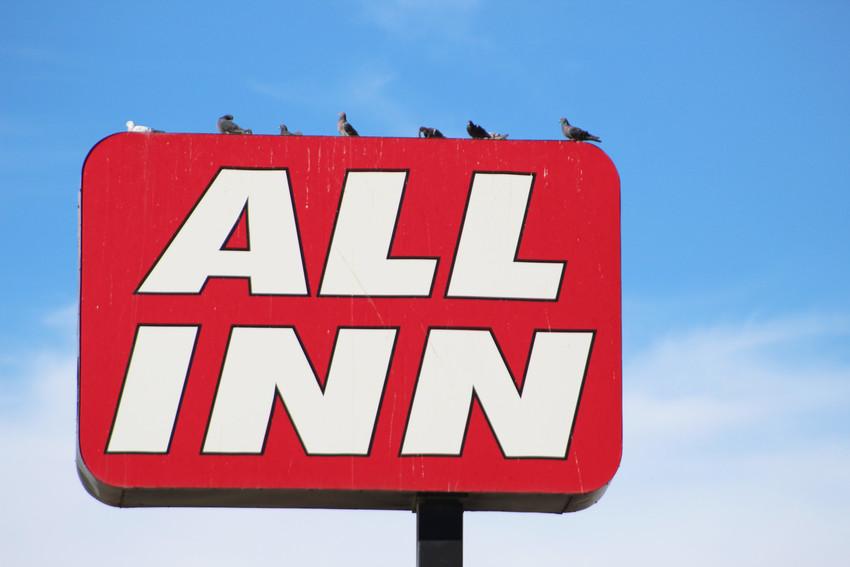 All Inn motel at 800 E Dickinson Blvd