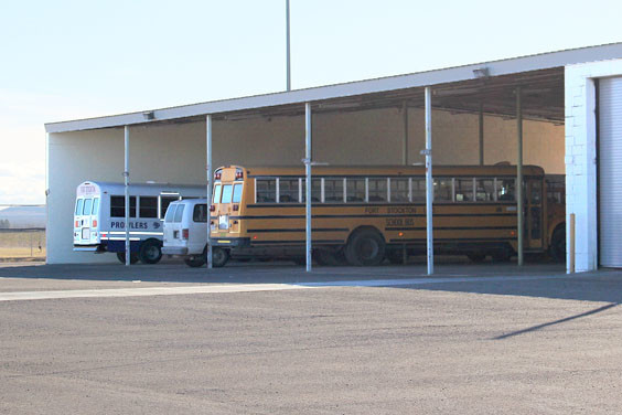 Three new buses will be parked at the FSISD bus barn soon, as their purchase has been approved and money relocated.
