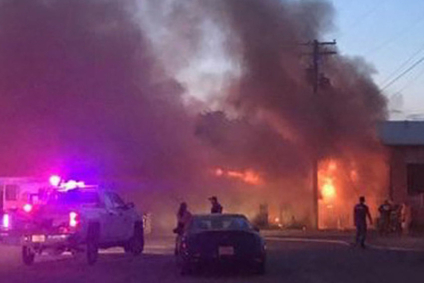 Motel fire Sunday took out electricity for part of Fort Stockton.