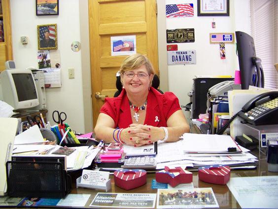 Joni McGee, VA officer for Pecos County.