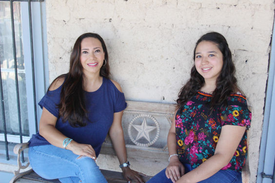 President and founder of the Desert Dreamer Foundation, LauraChao, spent some quality time with her first scholarship recipient, Katia Villarreal, at the Annie Riggs Memorial Museum.