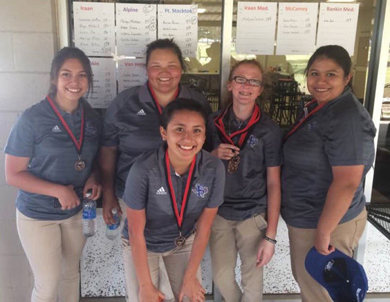 Prowler golfers took third place in the Iraan Golf Tournament Monday.