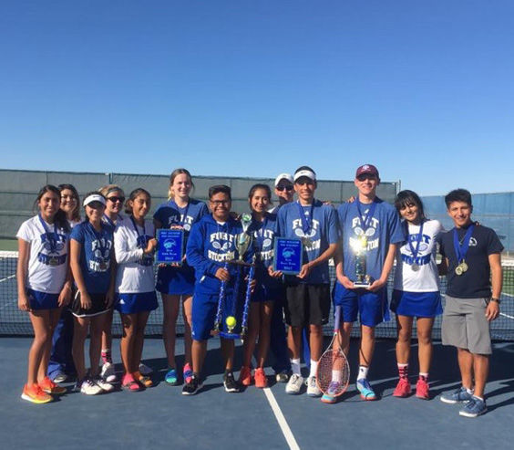 Panther Tennis took first place in the Fort Stockton Tennis Tournament, along with Best Girls Team, Best Boys Team and Boys Tournament MVP honors.