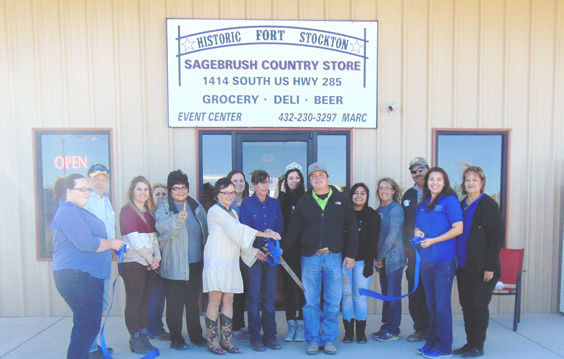 Sagebrush RV Park Country Store cuts ribbon