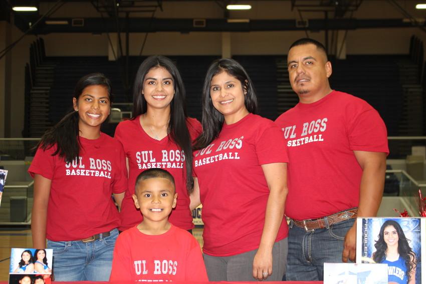 Elizabeth Mata and family
