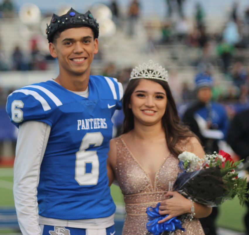 Nick Johnson and Lesly Ortega were named King and Queen of Fort Stockton High School's Homecoming 2018.