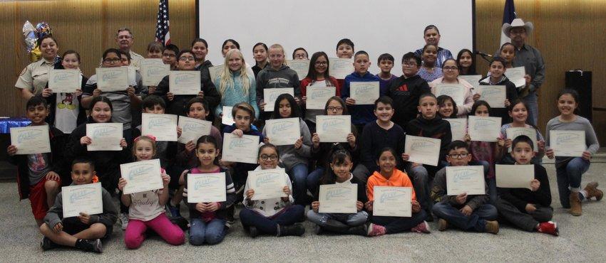 Fort Stockton Intermediate School GREAT program graduates