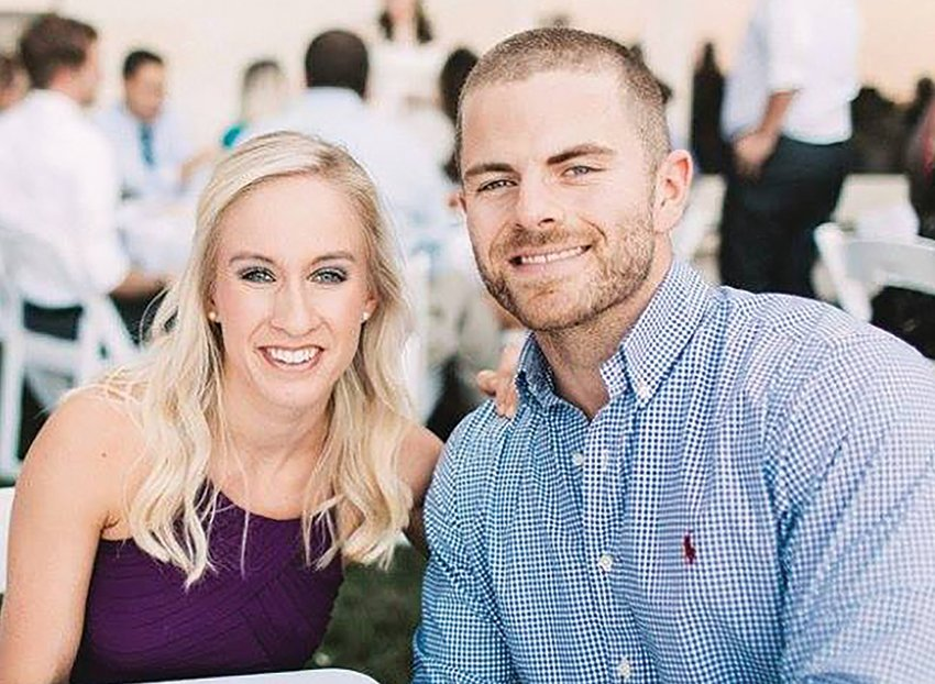 Family Nurse Practitioner Alyssa Frey and her husband Logan.