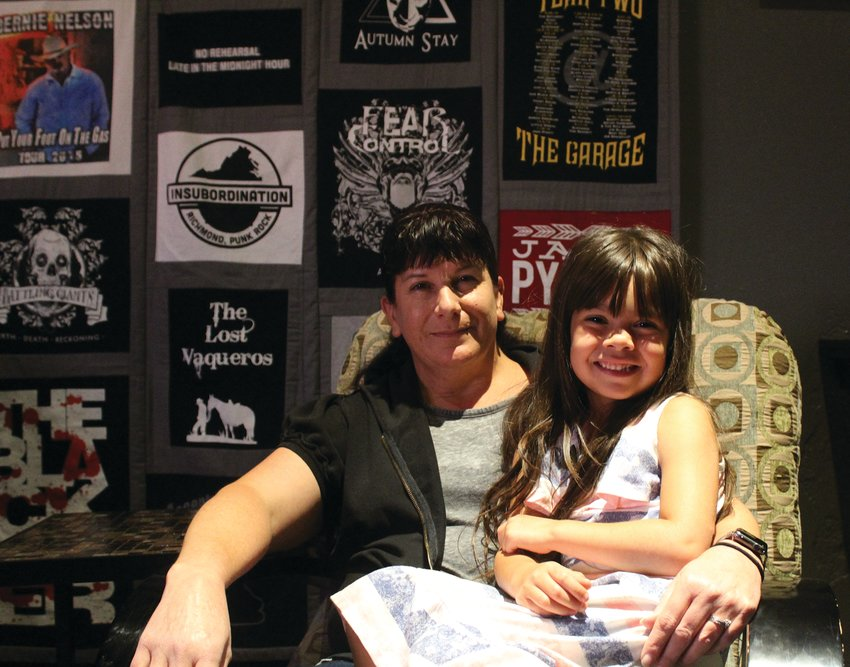 Renee Gaylor hopes to leave her coffee shop to her granddaughter Bailey Ureste someday.
