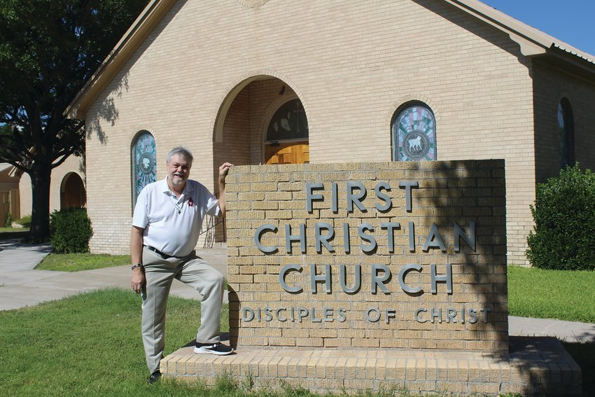 Walt Wellborn is excited to be the new pastor at First Christian Church.