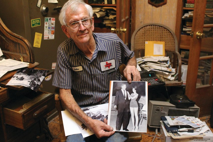 John Lannom has been in the Fort Stockton community for more than 70 years.