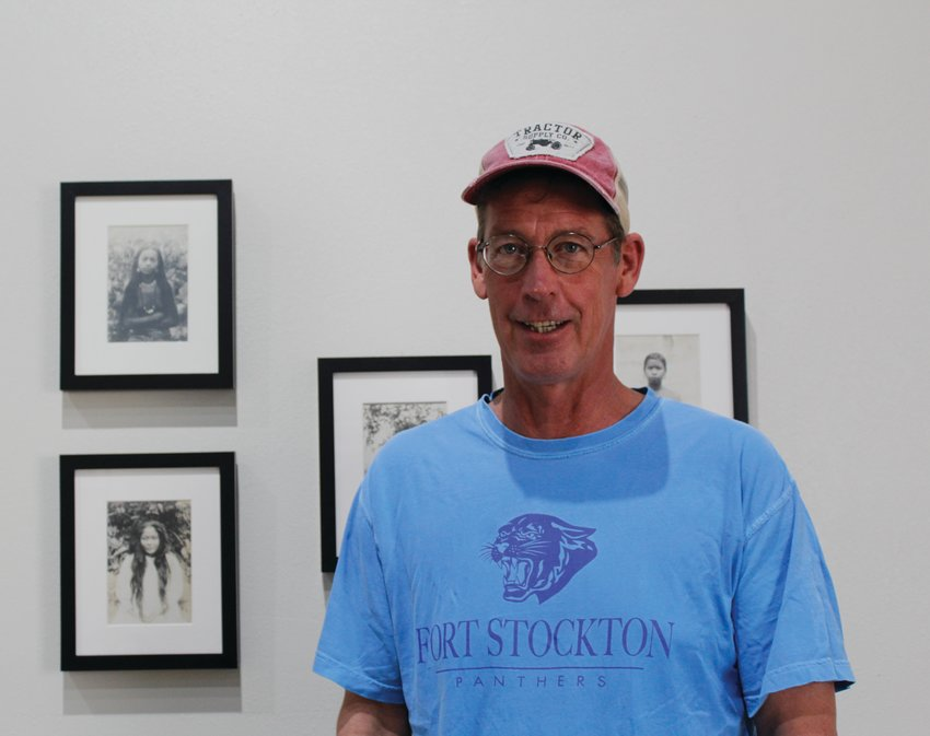Photo Collector Ross Harper is displaying part of his collection at Gallery 107 West.