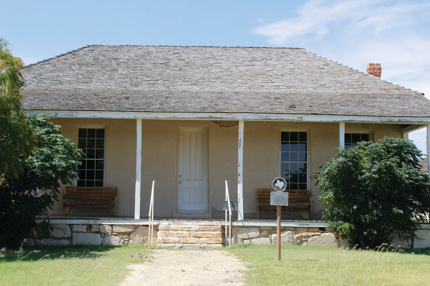 Officers Quarters #7 needs work since it has been shifting due to the recent rains.