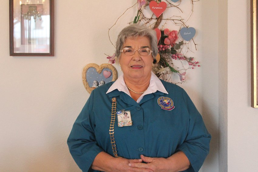 Dora Rascon is excited to retire from volunteering to spend time with her grandchildren.