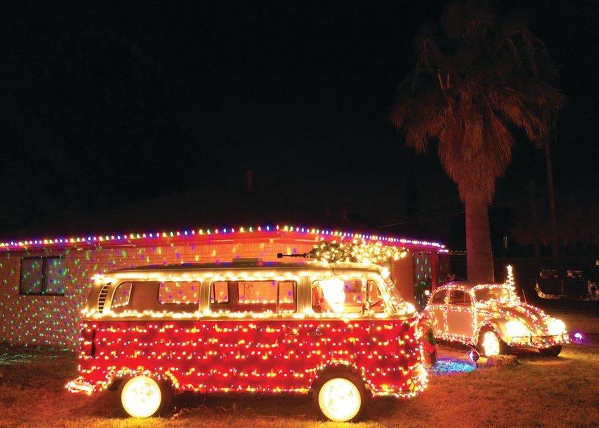 The VW Bus was homeowner Brenda Delao's dream car.