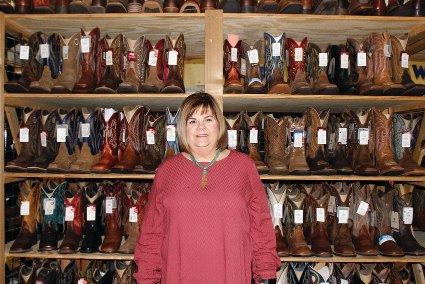 Rhonda Golliher loves how much her store has for the community.