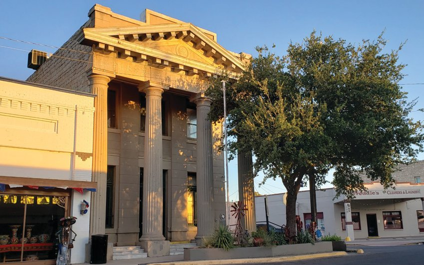 The former bank building at 123 N. Main St. was most recently used by the Fort Stockton Police Department.