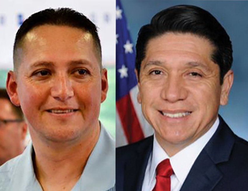 TX-23 congressional candidate Raul Reyes (right) will be seeking a recount of the July 14 primary runoff results after losing to Tony Gonzales (left) with a 45 vote margin.