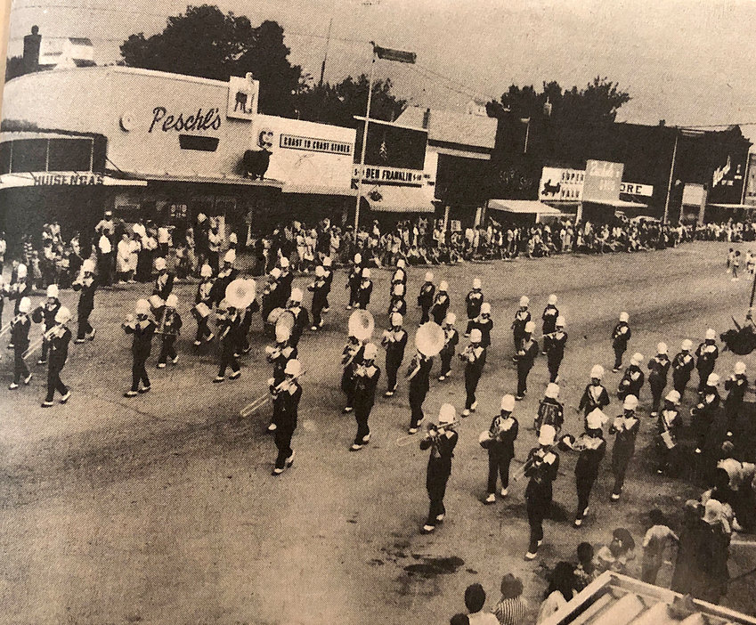 50 YEARS AGO: The De Smet High School Band will do its marching competition routine and concert competition for Winnipeg, Canada, on Wednesday. Persons may witness the marching competition at the east side of the De Smet track field; it will last approximately 12 minutes. The band will then go to the high school auditorium for a 20-minute concert. The 70 band students and 15 chaperones will leave Thursday morning on two chartered Jack Rabbit buses. While in Winnipeg, the students and chaperones will swim, tour the old French city and have free time on their own.
