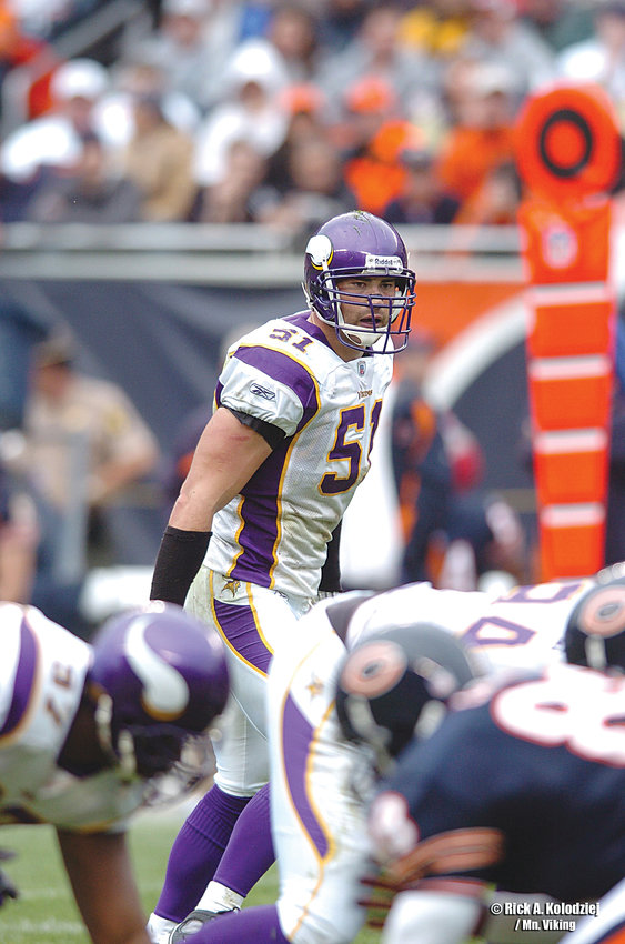 Ben Leber signed as a free agent with the Minnesota Vikings in 2006, where he played five seasons at linebacker.