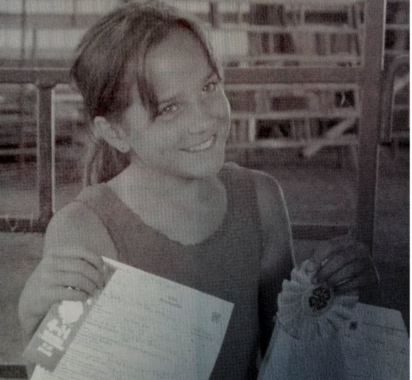 TEN YEARS AGO: Reyna Beck recently showed her boxer, Oscar, for the first time at the annual Kingsbury County 4-H Dog Show. The pair took home multiple ribbons.