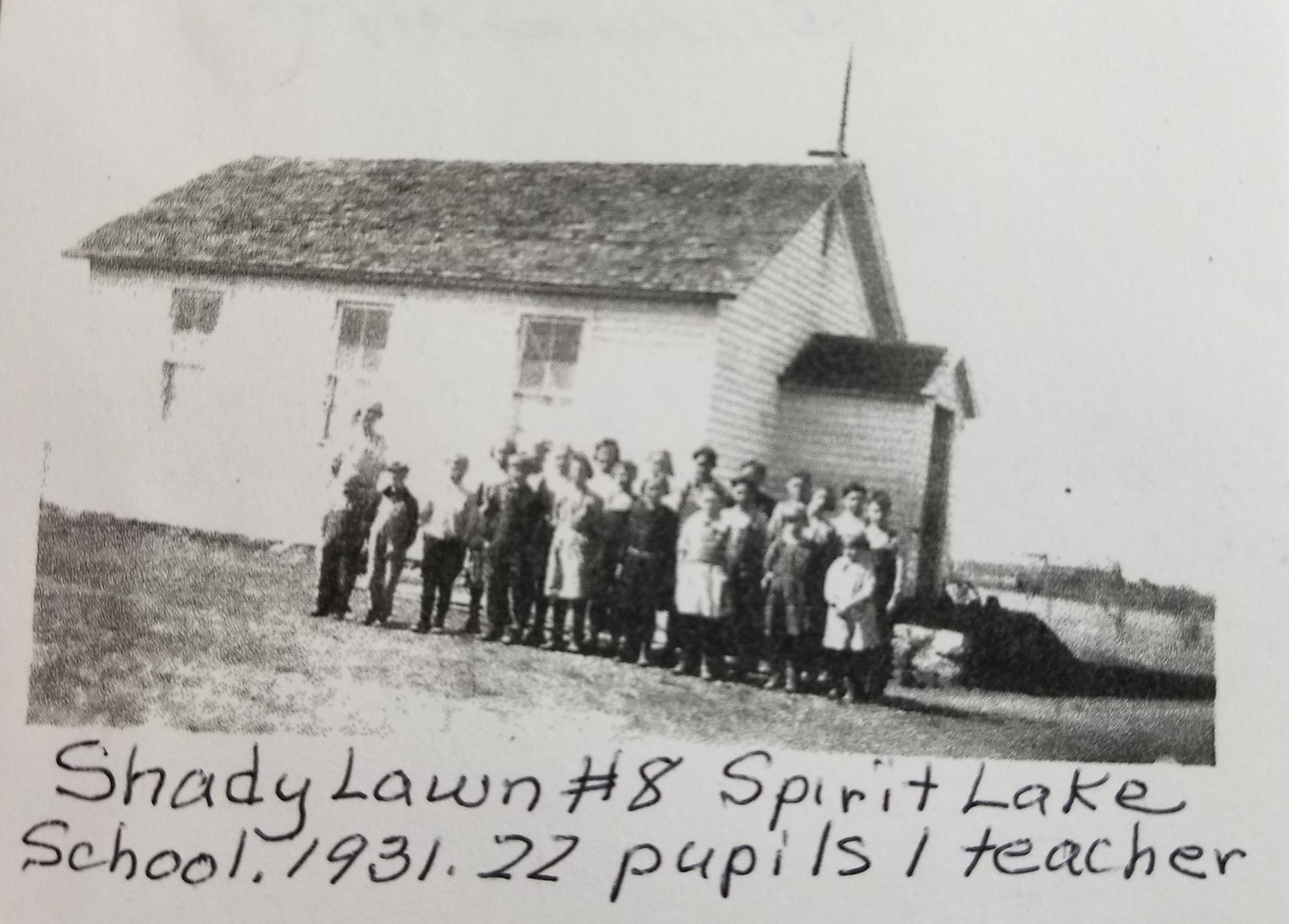 In this time of COVID-19, school means parents, computers and on-line lessons for many students. Looking to the past, a one-room schoolhouse with students of all ages must have been a different kind of challenge for a teacher.