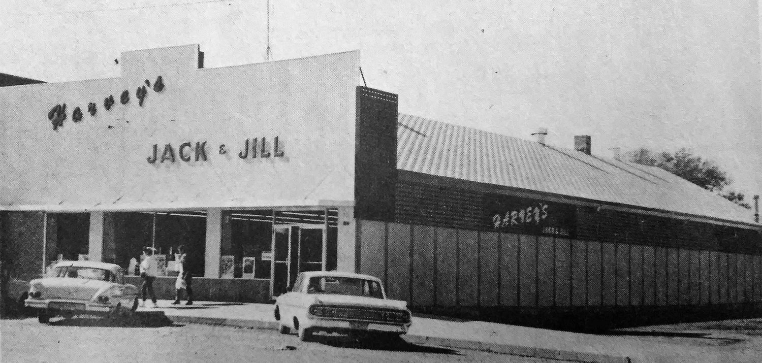 FIFTY YEARS AGO: Termed a Gala Grand Opening, a seven-day event opened yesterday at Jack and Jill's Food Center here – a celebration and Thanksgiving event following recent remodeling of the exterior and interior of the local supermarket.