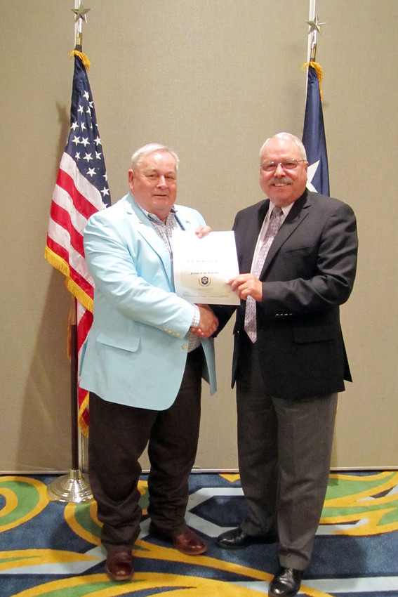 Madison County Judge C.E. McDaniel was installed as a Fellow in the Texas Judicial Academy in November.
