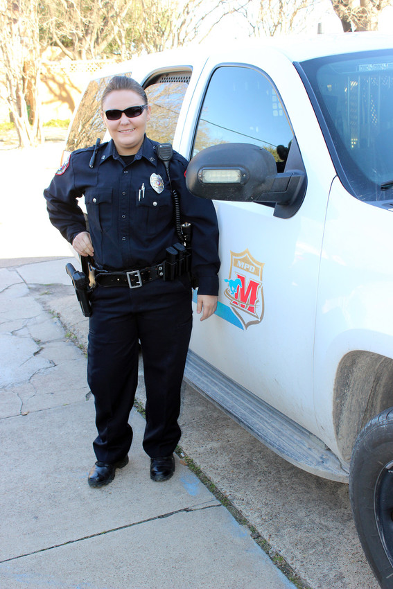 Officer Brittney Edwards is one of three new officers with the Madisonville Police Department.