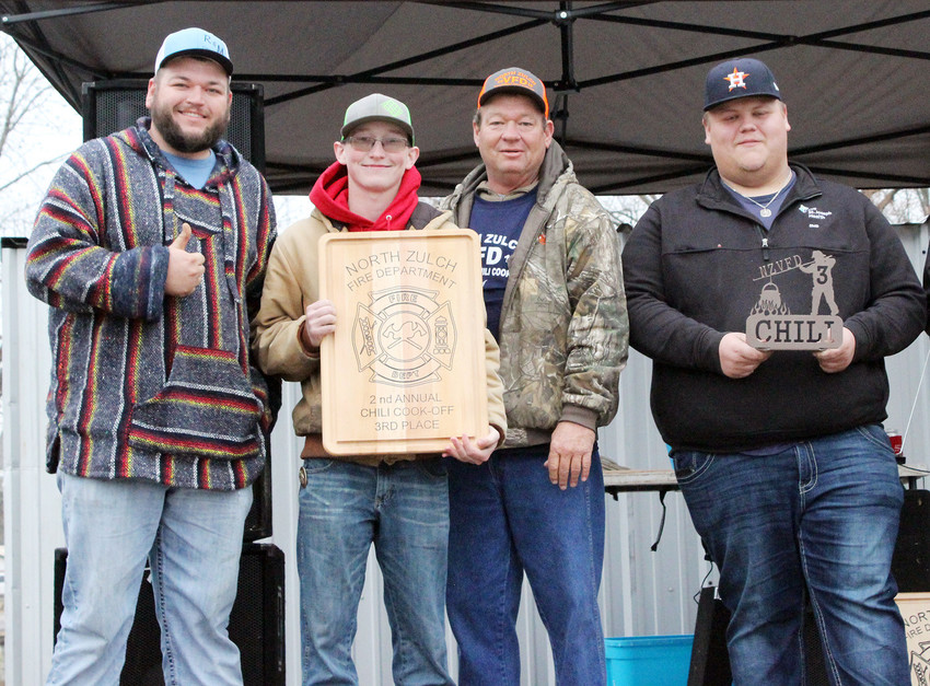 Third place in Chili went to the Madisonville Fire Department.