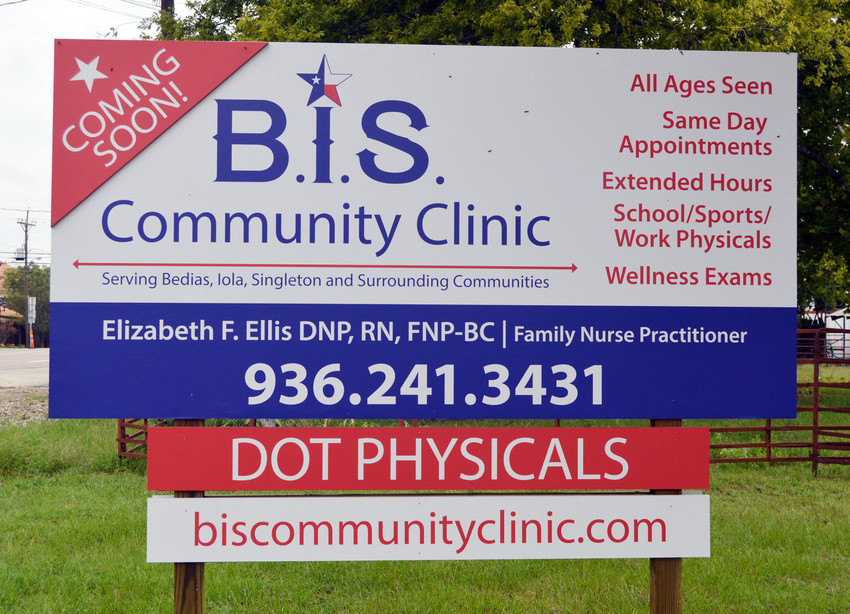 The BIS Clinic, a community dream since 2010, will finally be a reality and provide health care to the residents of northern Grimes County. The much anticipated Sept. 11 opening had been put on hold due to the recent storm.