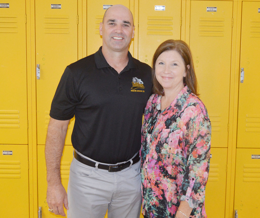Superintendent Alan Andrus and curriculum director Lea Ann Andrus prepare for their first year at the helm of North Zulch ISD.