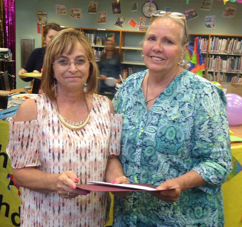 Gail Kay, Fifth Grade Teacher at Madisonville Intermediate School was recently chosen to receive a Texas Retired Teacher Foundation Classroom Assistance Grant in the amount of $500.