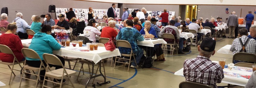 Last year's Veterans Day dinner was well-attended.