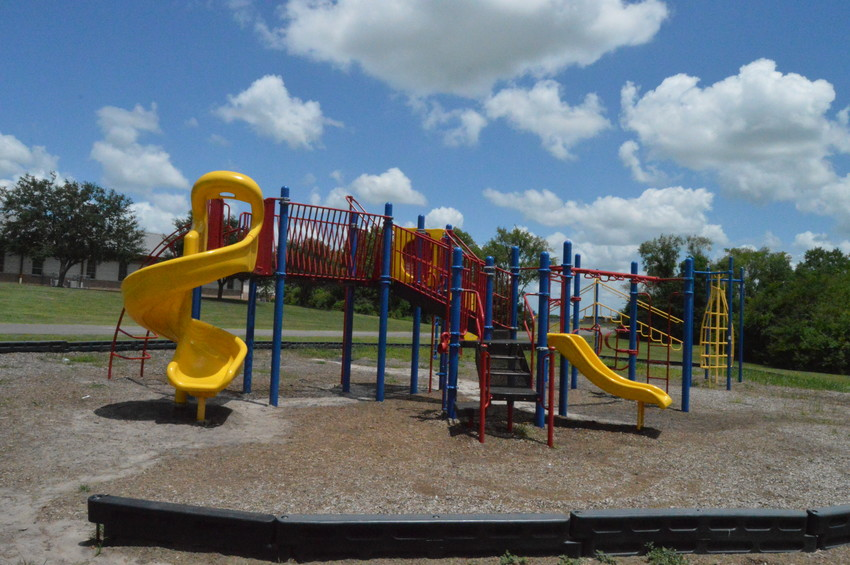 The playground at Madisonville Intermediate School, which will have daily recess during the 2018-19 school year.