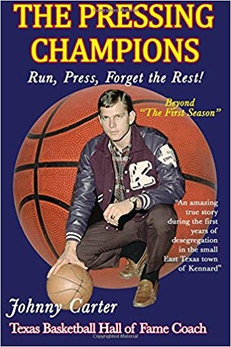 The Pressing Champions is the second book from local Hall of Fame basketball coach and Madisonville native Johnny Carter, who will be signing copies at Texas Burger on Tuesday.