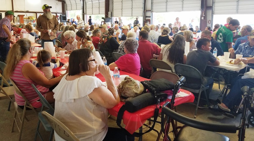 The annual BVFD Fish Fry Fundraiser feeds its patrons well, and in turn, the patrons help fund needed items for the fire department.