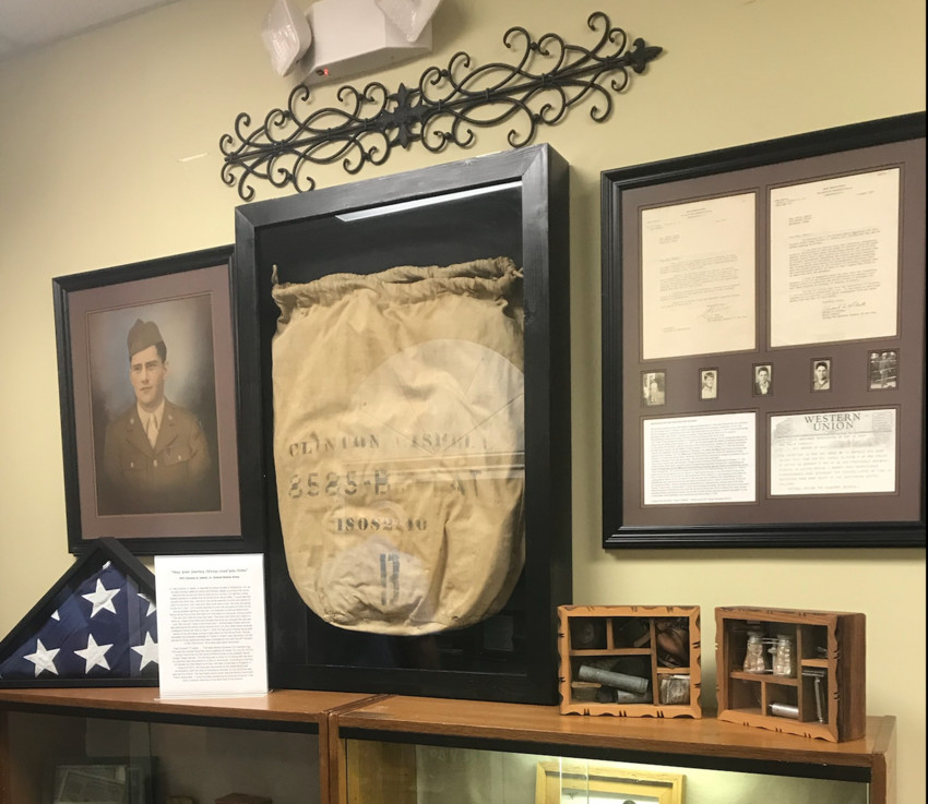C.A. Isbell's barracks bag from World War II was returned home 73 years after he was killed in Europe.
