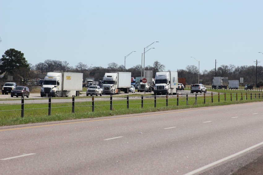 Traffic was backed up for miles as Texas DPS is investigating a pedestrian fatality that occurred on Wednesday on I45 south of Madisonville.