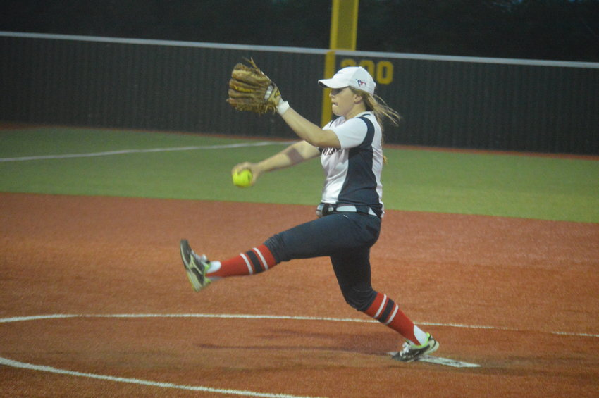 Madisonville's Emilie Blakley earned Co-Pitcher of the Year honors in district, just one of numerous awards garnered by Mustang softball players.