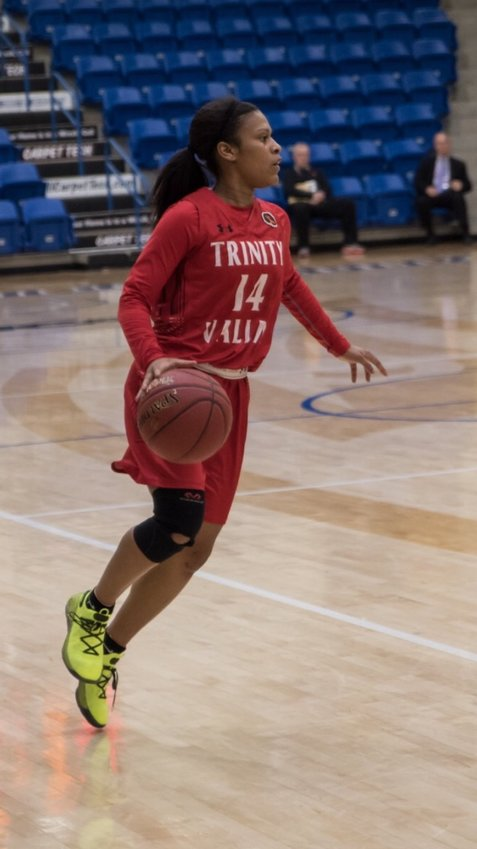 Madisonville and Trinity Valley graduate Tra'dayja Smith will continue her basketball career at Longwood in Virginia.