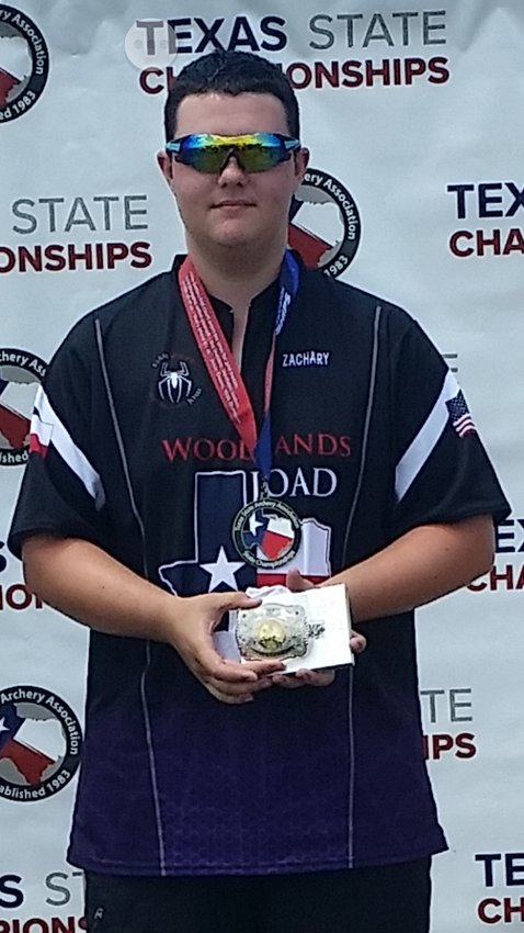 Zachary Rebstock earned another top finish as well as the JOAD Gold medal at the TSAA Outdoor Target Championships over the weekend.