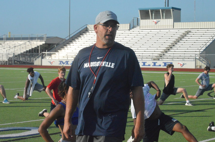 Madisonville head football coach Russell Urbantke prepares for his first season at the helm.