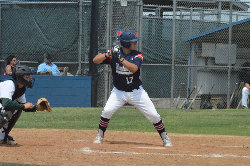 Madisonville graduate player Zach Poe has spent his summer in the Sunflower Collegiate League in preparation for his first year at Paris Junior College.