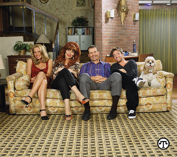 """""""Married...With Children"""" airs    weeknights on getTV."""