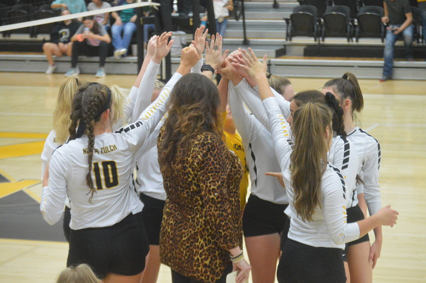 The North Zulch volleyball team will begin district play in Centerville on Friday after a long hiatus from the court.