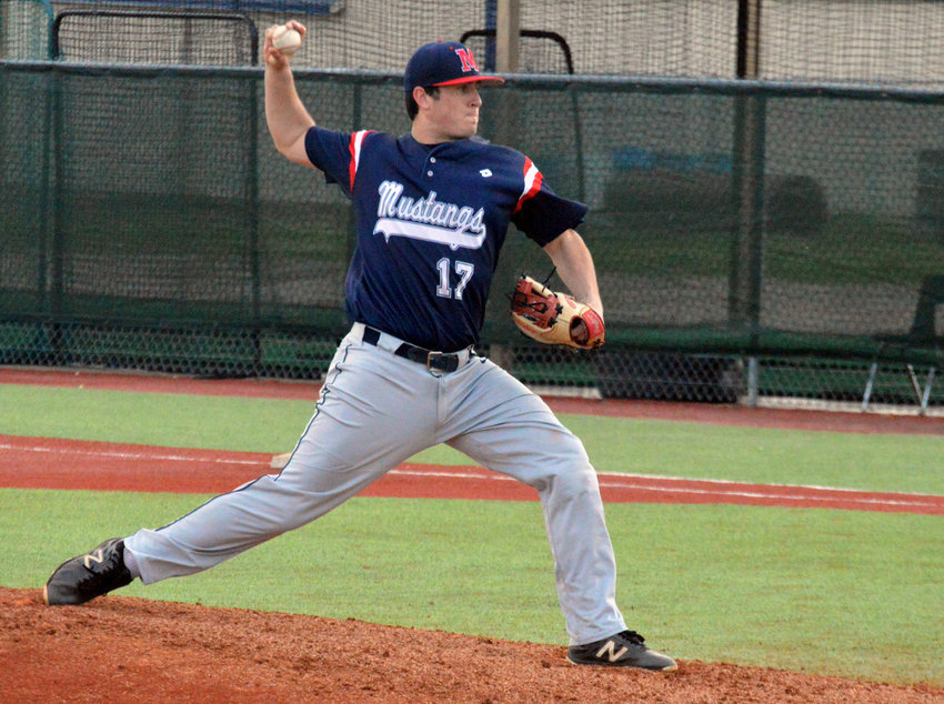 Madisonville graduate Zach Poe recorded his first save of the season with Paris Junior College.