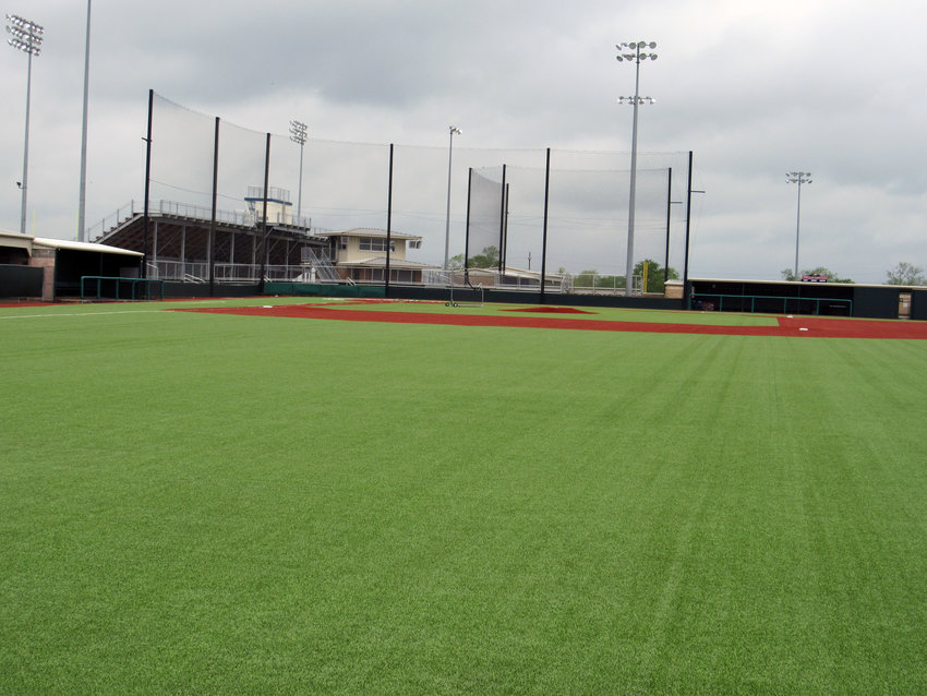 The Madisonville baseball stadium and all MHS athletic facilities remain empty since school and all extra-curricular activities were canceled due to concerns over COVID-19, or coronavirus.