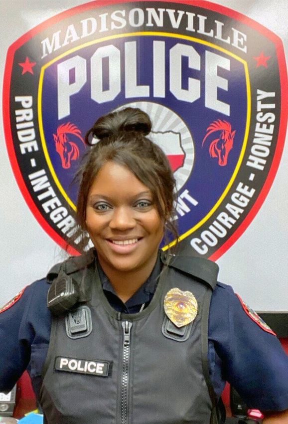 Madisonville Police Officer Anecia Murphy